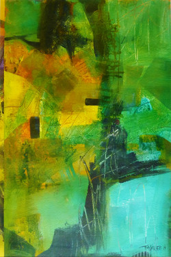Blue in Green 70x50cm