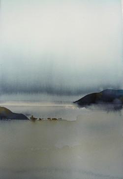 landskap 27x35cm akvarell