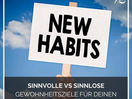 Motivation lässt uns loslegen, die Gewohnheit lässt uns weitermachen.!?