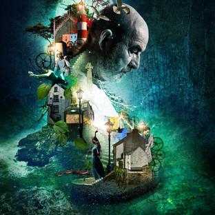 Under milk Wood Theatre Poster / Clwyd Theatr Cymru