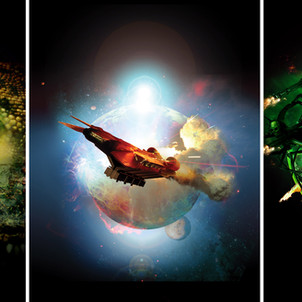 Book Cover designs For Neal Asher