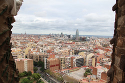 Sagrada Familia | View of Barcelona, Spain
