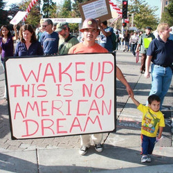 I took this at the Occupy Movement a few years ago at the march to city hall in Santa Rosa, Californ