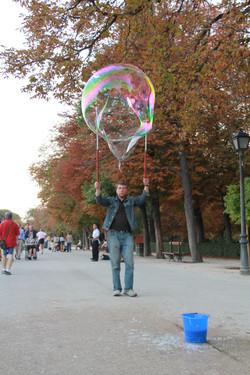 Bubbles | Parque de Retiro | Madrid