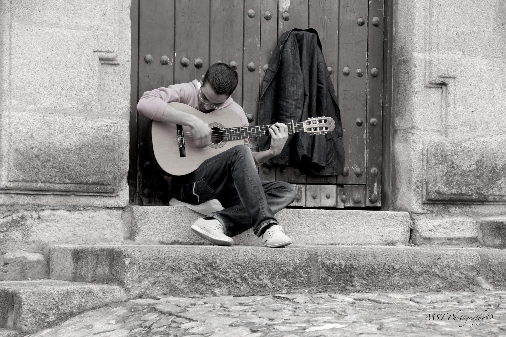 Flamenco Guitarist, Extremadura