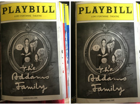 Favorite Playbills from My Collection