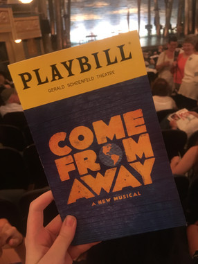 Going Back to Come From Away