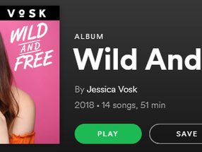 "Jessica Vosk: ""Wild And Free"""