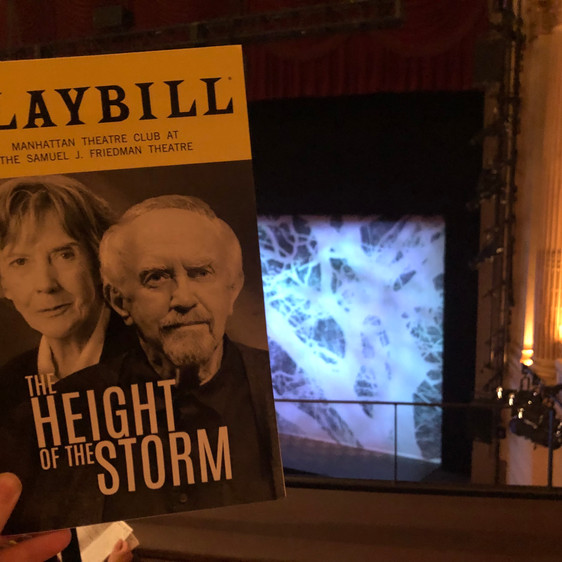 Review: The Height of the Storm, starring Eileen Atkins and Jonathan Pryce