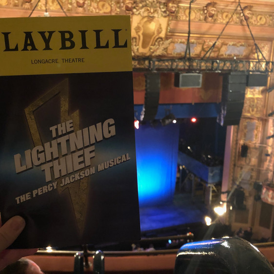 Review: The Lightning Thief, starring Chris McCarrell