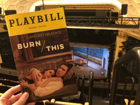 Review: Burn This, starring Keri Russell and Adam Driver