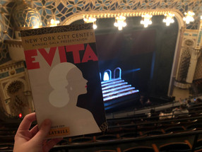 Review: Evita at New York City Center