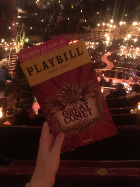 The Great Comet Shake-up