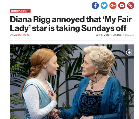 My Fair Lady and the Alternate Controversy