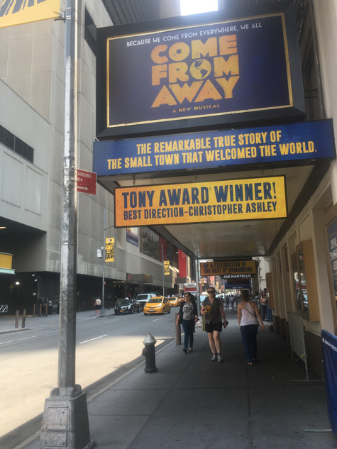 Favorite Broadway Theaters