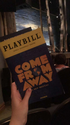 Reaction to Seeing Come From Away again