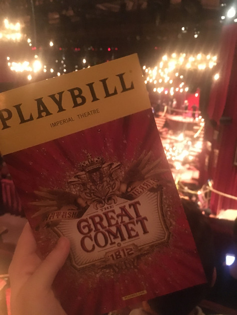 Review: The Great Comet starring  Dave Malloy