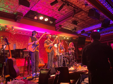 Review: Sing Street's Musicians in The Wrong Gig at 54 Below