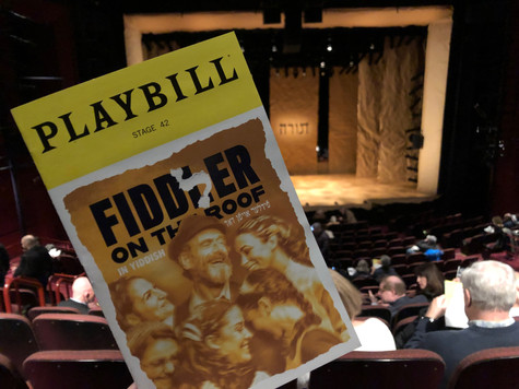 Review: Fiddler on the Roof in Yiddish, at Stage 42