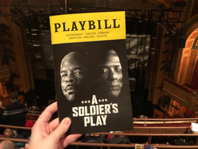 Review: A Soldier's Play, starring Blair Underwood and David Alan Grier