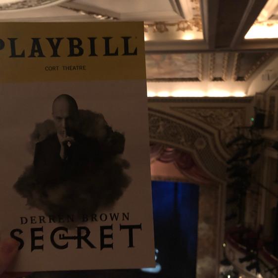 Review: Derren Brown - Secret