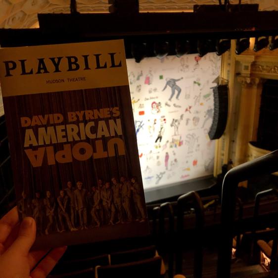 Review: David Byrne's American Utopia