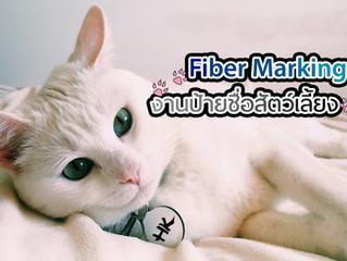 Fiber Marking กับ งานป้ายชื่อสัตว์เลี้ยง