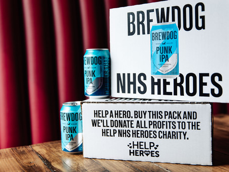 Brewdog donates Punk Ipa Pack Profits to Help NHS Heroes