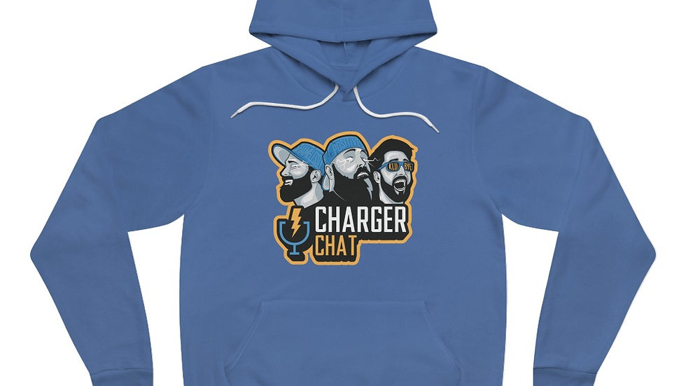 Charger Chat Fleece Pullover Hoodie