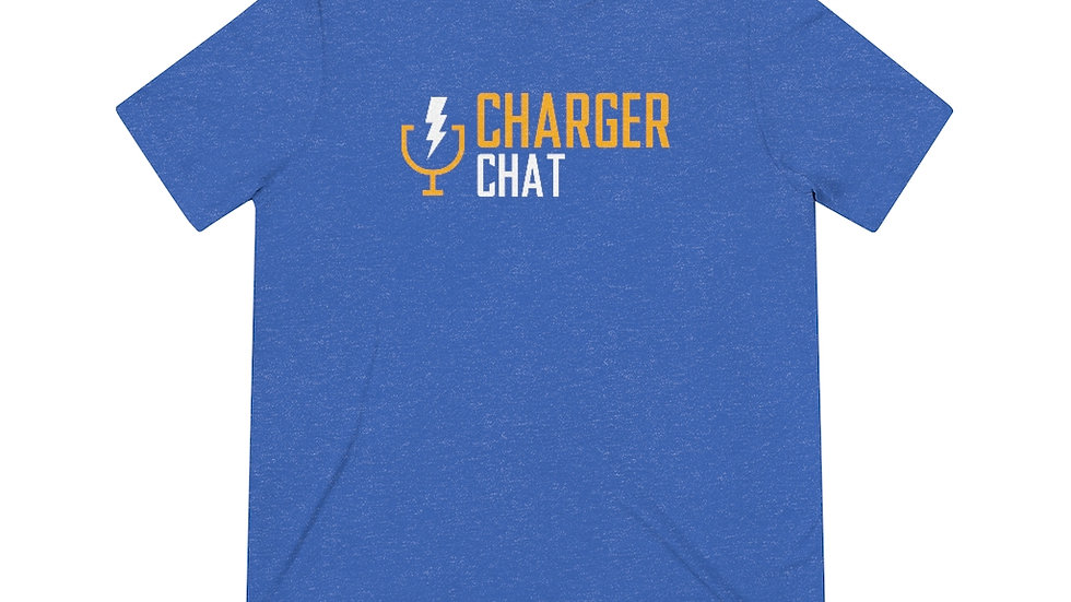 Charger Chat - Unisex Triblend Tee