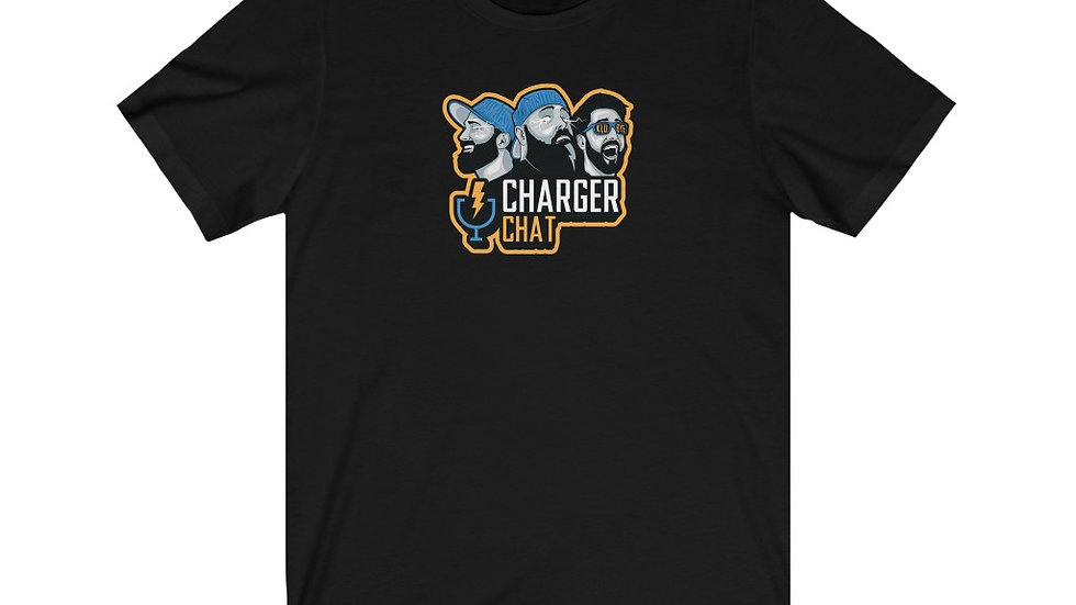 Charger Chat - Unisex Jersey Short Sleeve Tee