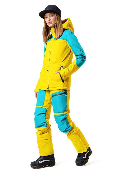 """Женский ветровочный костюм """"Wetnesstour Lady"""" Yellowpaint V3"""