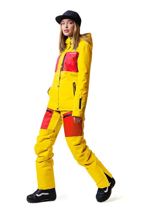 "Женский утепленный костюм ""Snowtour Lady"" Yellowpaint V2"