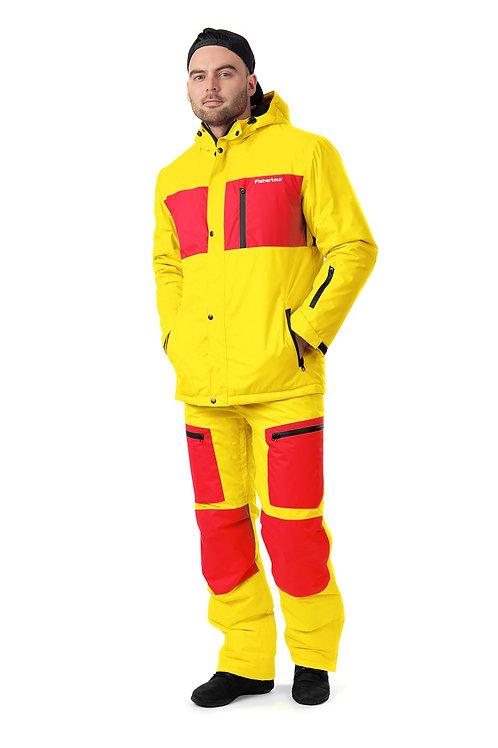 "Мужской горнолыжный костюм ""Skytour Mens"" Oneyellow V2"
