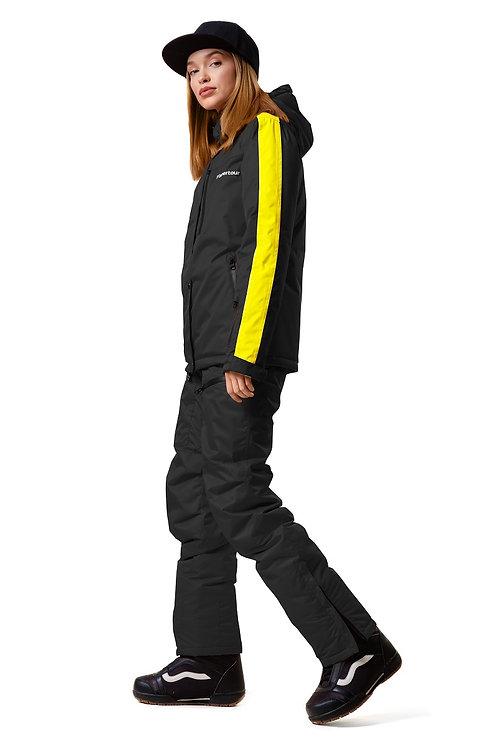 """Женский ветровочный костюм """"Wetnesstour Lady"""" Blackpaint V1"""