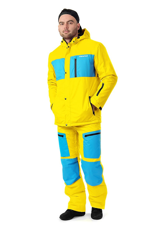 "Мужской демисезонный костюм ""Watertour Mens"" Yellowpaint V2"