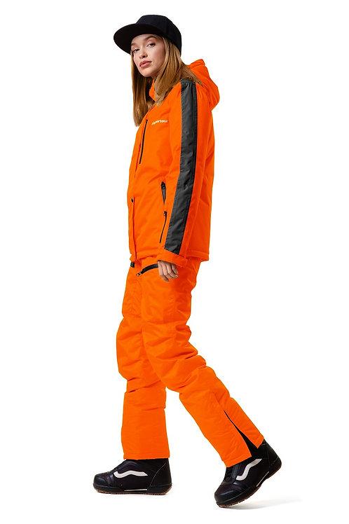 """Женский демисезонный костюм """"Watertour Lady"""" Orangepaint V1"""