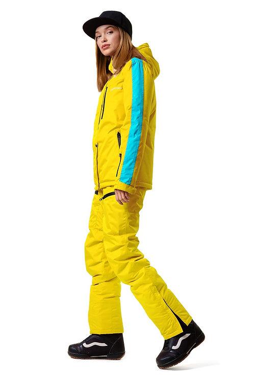 "Женский утепленный костюм ""Snowtour Lady"" Yellowpaint V1"