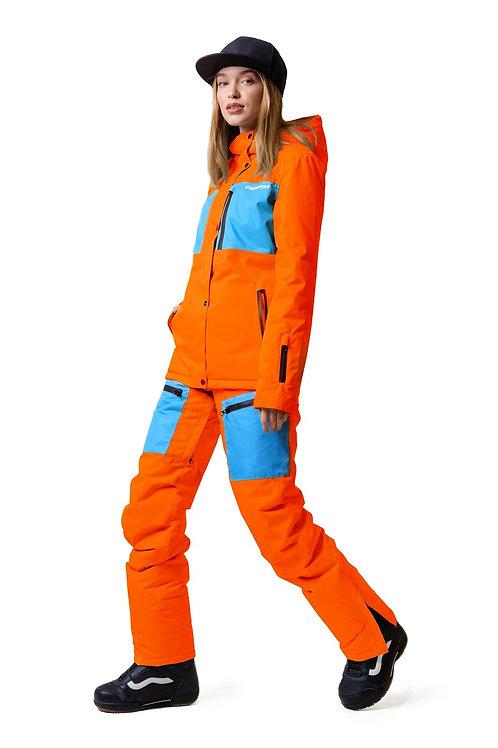 """Женский ветровочный костюм """"Wetnesstour Lady"""" Orangepaint V2"""