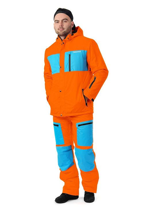 """Мужской демисезонный костюм """"Watertour Mens"""" Orangepaint V2"""