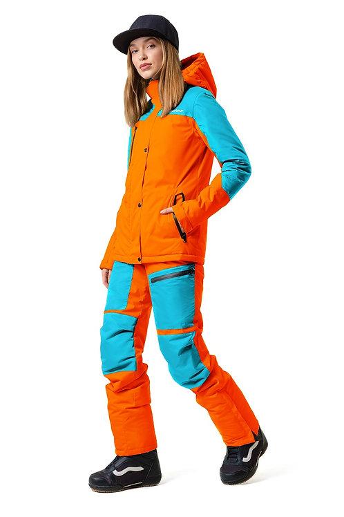 """Женский демисезонный костюм """"Watertour Lady"""" Orangepaint V3"""