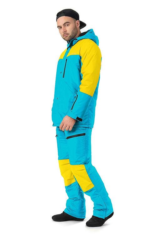 """Мужской утепленный костюм """"Snowtour Mens"""" Aquapaint V3"""