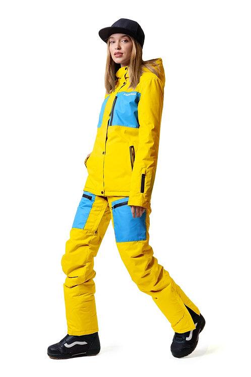 "Женский демисезонный костюм ""Watertour Lady"" Yellowkpaint V2"