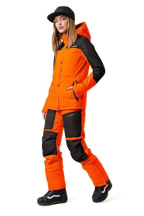 """Женский ветровочный костюм """"Wetnesstour Lady"""" Orangepaint V3"""