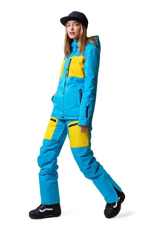 """Женский ветровочный костюм """"Wetnesstour Lady"""" Bluepaint V2"""