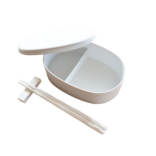 貝がら弁当箱&箸セット/各1個