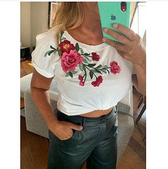 Camiseta super flower