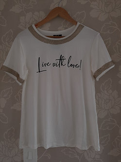 CAMISETA VISCO LYCRA live with love