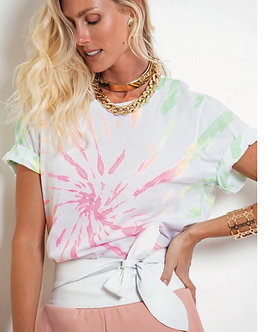 T-shirt tie dye Flúor