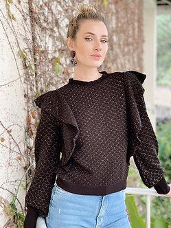 tricot casa de abelha Lux
